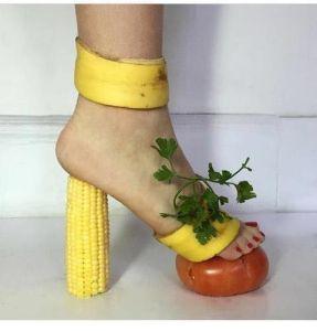 banana shoe